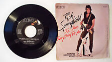 VTG ©1981 RICK SPRINGFIELD 45 RPM RECORD & SLEEVE - I'VE DONE EVERYTHING FOR YOU
