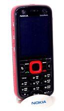 Nokia 5320d XpressMusic Red and  Black GREEK KEYPAD RARE SWAP ORIGINAL UNLOCKED