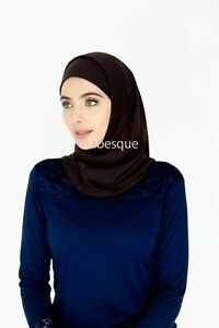 Two Piece Amira Hijab - Adult size - Cotton/Polyester Blend