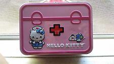HELLO KITTY FIRST AID TIN BOX