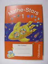 Mathe-Stars 1 mit herausnehmbarem Lösungsteil. NEU