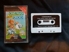 ONE MAN AND HIS DROID Commodore 64 Cassette Game C64