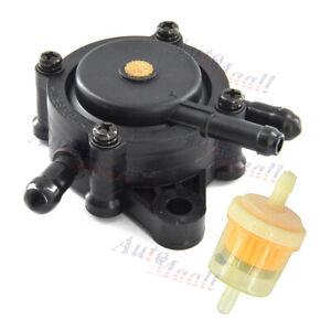 Fuel Pump & Filter For Honda GC135 GC160 GC190 GX610 16700-Z0J-003 16700-ZL8-013