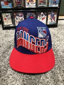 NEW YORK RANGERS ❤️ADJUSTABLE HAT 🔥 NEW! NEW ERA 9FIFTY ONE SIZE FITS ALL❗️🏒👍