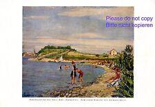 Arbe Island Dalmatia XL art print 1924 by Hermann Ebers Rab Island