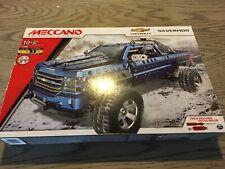 MECCANO Chevrolet Silverado Building Set Model Car Pickup 17307 toy