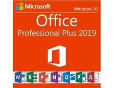 Microsoft Office 2019 Professional - Vollversion - 24/7 Produktkey per email
