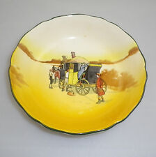 "Royal Doulton Series Ware ""COACHING DAYS  Pattern""  BOWL"
