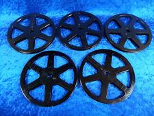 5 Stück Super 8 Filmspulen im Set, schwarz, je 120 Meter. Gebraucht, Zustand gut
