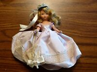 Storybook Doll Nancy Ann #190 Shower Girl for April Dolls of the Month Box & Tag