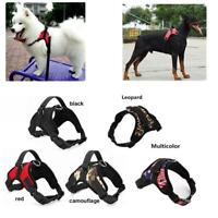 Small Large Dog Soft Adjustable Harness Pet Walk Out Hand Strap Vest Collar - S