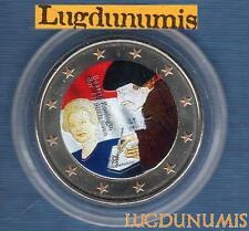 2 euro Commémo Couleur Color - Pays Bas 2011 L'Eloge de la Folie Erasme - Nederl