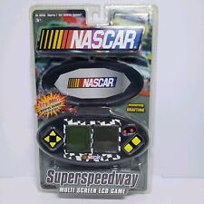 NASCAR SUPERSPEEDWAY MULTI SCREEN LCD GAME handheld travel.New Factory Sealed