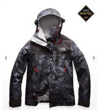 North Face Women's 1990 Mountain Goretex Jacket Medium Black Macrofleck SAMPLE