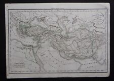 § carte Alexandri Magni Imperium et expeditiones - Félix Delamarche 1829
