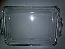"""FIRE KING By ANCOR HOCKING MIXING 9""""X13"""" Cake Pan Vintage"""