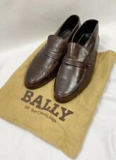 Bally Vintage 90s Leather Loafers Unisex