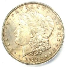 1878-CC Morgan Silver Dollar $1 - ICG MS63 - Rare in MS63 Grade - $468 Value!