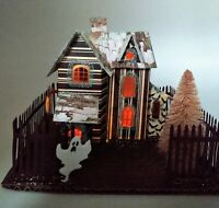Spooky Halloween Putz House