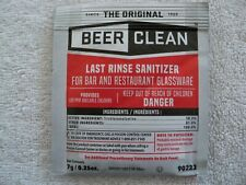100 Pack Beer Clean Last Rinse Sanitizer, .25 oz. packet - Glass Cleaner