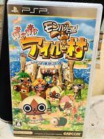 Monster Hunter Diary Poka Airu Village SONY PSP REGION FREE JAPAN IMPORT Capcom