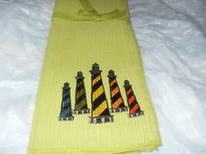 New placemats set of 2 light house