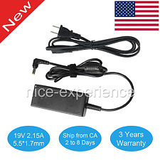 19V 2.1A AC Power Adapter Charger for Acer Aspire One P1VE6 PAV01 ZH9 ZE6 30W