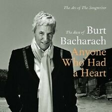 BURT BACHARACH - ANYONE WHO HAD A HEART-THE BEST OF BURT BACHARACH  2 CD  NEU