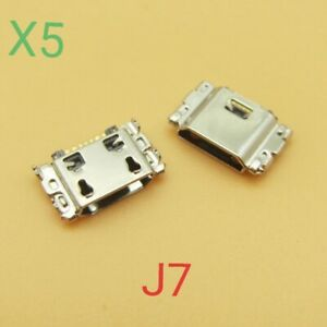 5x USB Charger Charging Port Dock Connector for Samsung Galaxy J7 2018 ATT J737A