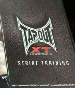 TapOut XT Extreme Training 15 DVD Set Workout Fitness MMA Boxing Exercise