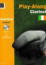 R.Graf: World Music Ireland. Play-Along Clarinet.