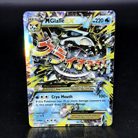 M Glalie EX XY BREAKthrough 35/162 Full Art Holo Ultra Rare Pokemon Card