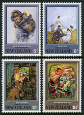 New Zealand 521-524, MNH. Paintings by Frances Hodgkins, 1973