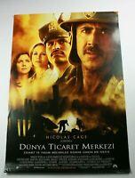 WORLD TRADE CENTER 2000s Original Turkish Drama Movie Poster C6 NICOLAS CAGE