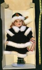 NIB Vanessa Ricardi Christmas Doll 1998 Limited Edition With Certificate NEW
