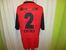 Eintracht Frankfurt Jako Heim Trikot 2006/07 + Nr.2 Ochs + Handsigniert Gr.XL
