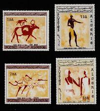 ALGERIA #344-347 Mint Lightly Hinged 1966 PREHISTORIC WALL PAINTINGS SCV $28.50