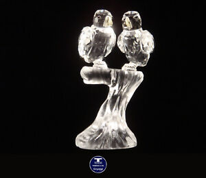 """[SPECIAL OFFER] """"Love Parrots on Branch"""" Austrian Crystal Figurine was AU$60.00"""
