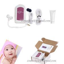 New Ultrasound Fetal doppler monitor,Baby Heart beat prenatal monitor,Gel,CE FDA