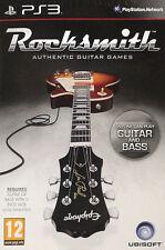 Rocksmith: Guitar and Bass (Sony PlayStation 3, 2012) - European Version