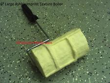6 Large Ashler Brick Concrete Cement Landscape Curbing Texture Imprint Roller