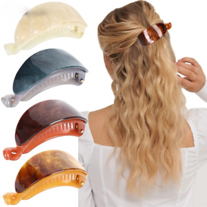 Fashion Banana Clip Hook Shape Hair Claws Women Cute Hairpins Hair Accessories
