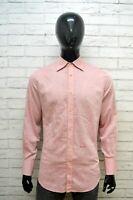 DSQUARED Classic Camicia Uomo Taglia M Maglia Camicetta Polo Shirt Man Casual