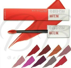 MAYBELLINE Superstay Matte Ink Liquid Lipstick Long Lasting *SEALED *ALL SHADES*