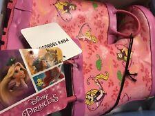 Disney Princess Rainboots Little Girl 9/10