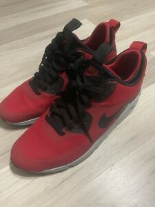 Nike Air Max 90 Midwinter 'Gym Red' 806808-600 Men's Size 9