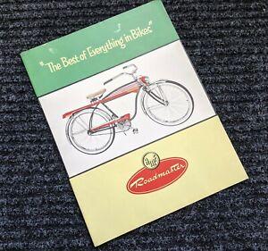 1954 AMF ROADMASTER  BICYCLE SALES CATALOG-ORIGINAL SALES BROCHURE LUXURY LINER