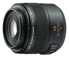 Panasonic Leica DG Macro-Elmarit 45mm f/2.8 ASPH. MEGA O.I.S. lens Black EMS