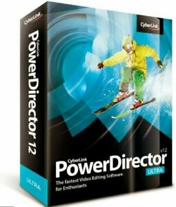 Cyberlink PowerDirector V12 Ultra Brand New In Box