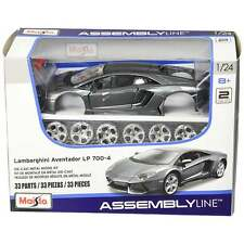Maisto Lamborghini Aventador LP 700-4 Assembly Line Metal Kit - 1:24 Scale Kit